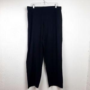 Eileen Fisher Lounge Pant Elastic Waist Wide Leg